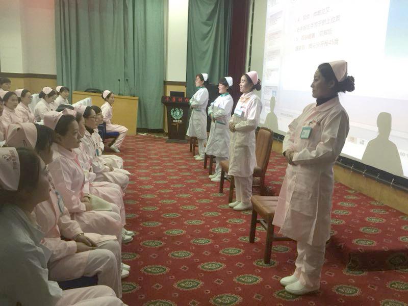 <b>加强导医服务礼仪培训 塑造良好职业形象——西藏阜康医院护理部开展导医礼</b>