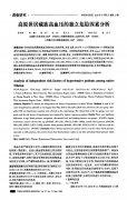 高原世居藏族高血压的独立危险因素分析(1)