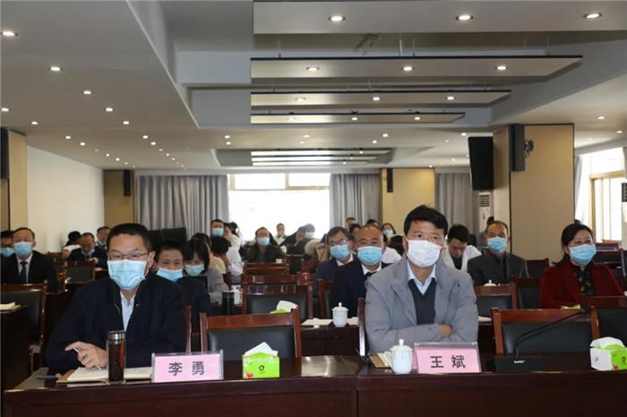西藏阜康医疗2020年年终总结述职会召开